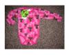Aarikka Hirvonen pitkähihainen body pinkki (56cm)
