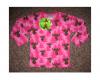 Aarikka Hirvonen pitkähihainen paita pinkki [86/92-110/116]