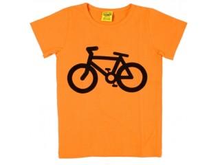 Duns Polkupyörä lyhythihainen paita oranssi