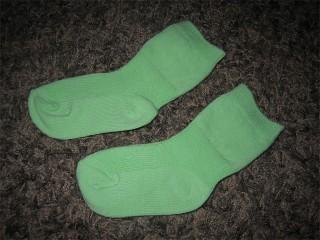 Finnwear Babyrib polvisukat vaaleanvihreä [15/16-19/21]