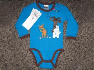 Finnwear Muumi ja Nipsu body sininen