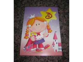 Postikortti 3v tyttö