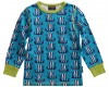 Maxomorra Viikinkilaiva pitkähihainen paita sininen