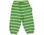 Maxomorra Raidat vauvan housut vihreä