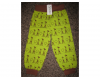 Snoozy Kirahvi housut vihreä (134/140)