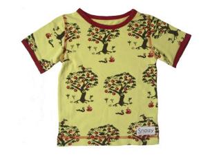 Snoozy Omenapuut lyhythihainen paita [86/92-134/140]