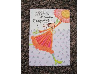 Postikortti Ylioppilas (tyttö)