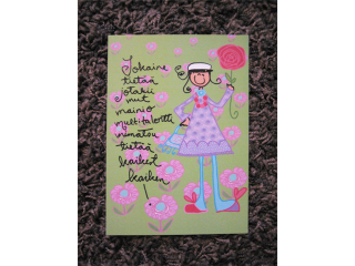Postikortti Multitalentti Ylioppilas (tyttö)